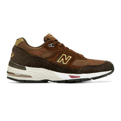 New Balance Made in UK 991 - Black Coffee with Brown productafbeelding