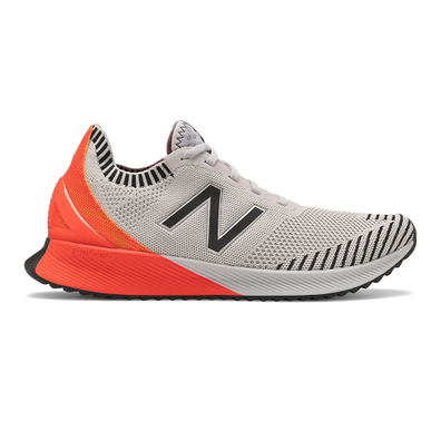 New Balance FuelCell Echo - Light Aluminum with Neo Flame productafbeelding