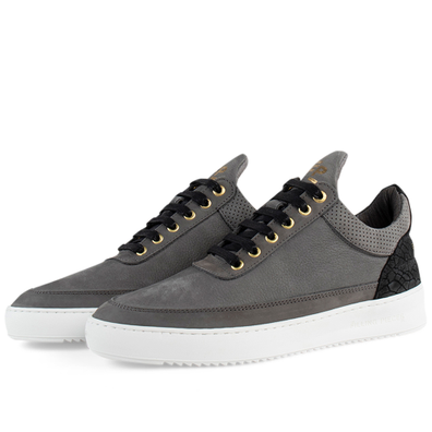 Low Top Ripple Ceres 'Grey' productafbeelding