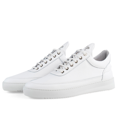 Low Top Ripple Crumbs 'All White' productafbeelding