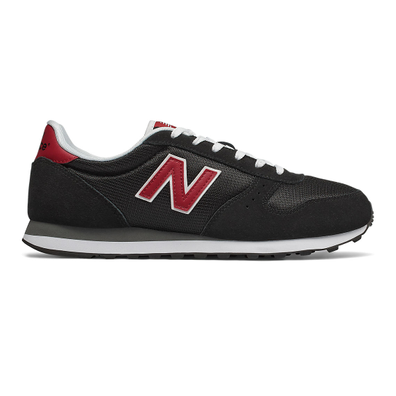New Balance 311 Classic - Black with Chili Pepper productafbeelding