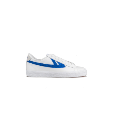 Warrior Dime Leather White Blue productafbeelding