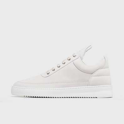 Low Top Ripple Basic All White productafbeelding