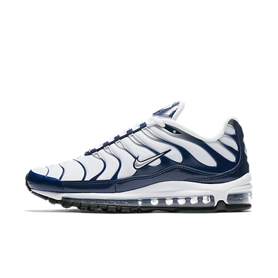 Nike Air Max 97 Plus 'Metallic Silver/Midnight Navy' productafbeelding