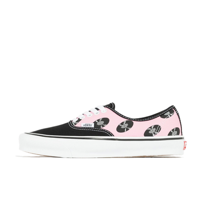 Wacko Maria X Vans OG Authentic LX 'Records' - Light Pink productafbeelding