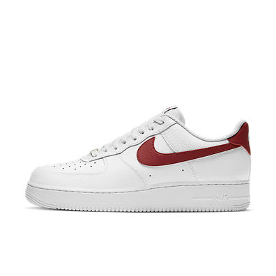 Nike Air Force 1 Low White Team Red productafbeelding