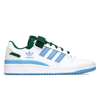 adidas Forum Low White Blue Green productafbeelding