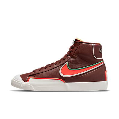 Nike Blazer Mid '77 Infinite Bronze Eclipse/ Bright Crimson-Light Bone productafbeelding