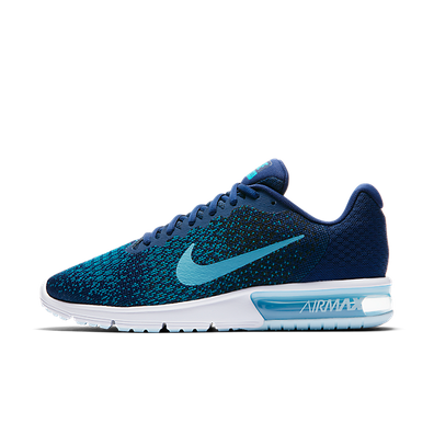 Nike Air Max Sequent 2 Binary Blue/Cerulean-Black productafbeelding