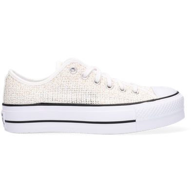 Ademende Platform Chuck Taylor All Star Low Top productafbeelding