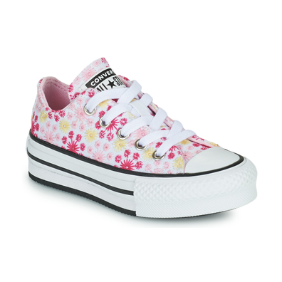 Canvas Broderie EVA Platform Chuck Taylor All Star Low Top productafbeelding