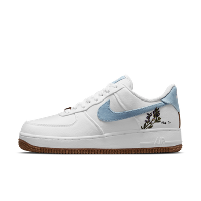Nike Air Force 1 '07 'Indigo' – Plant Cork Pack productafbeelding