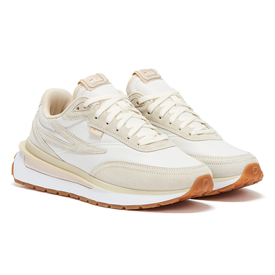 Fila Renno Womens Beige / White Trainers productafbeelding