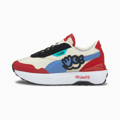 Puma Puma X Mr Doodle Cruise Rider Sneakers Dames productafbeelding
