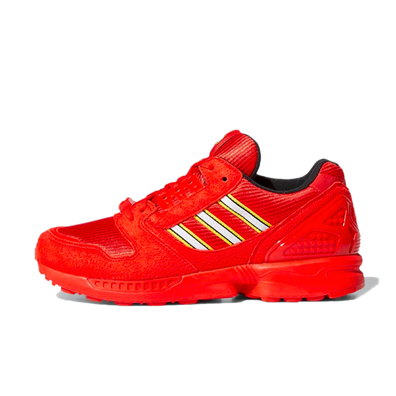 Lego X adidas ZX8000 'Red' productafbeelding