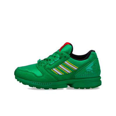 Lego X adidas ZX8000 Junior 'Green' productafbeelding