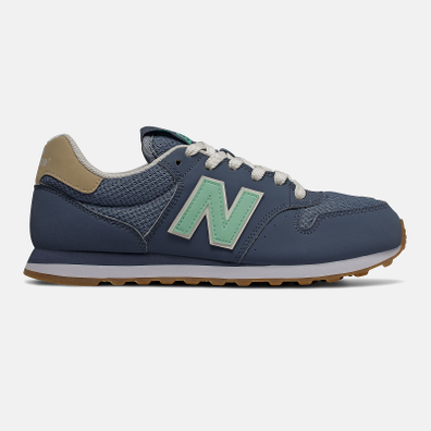 New Balance 500 - Vintage Indigo with Neo Mint and Deep Porcelain Blue productafbeelding