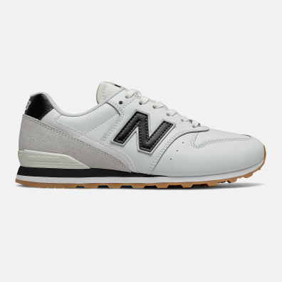 New Balance 996 - White with Black productafbeelding