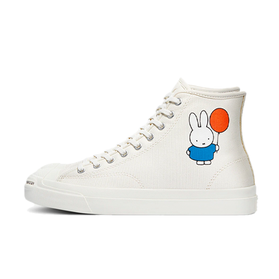 Pop Trading x Miffy x Converse Jack Purcell 'Nijntje Balloon' - White productafbeelding