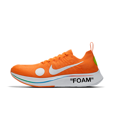 OFF WHITE x Nike Zoom Fly Mercurial Flyknit 'Orange' productafbeelding