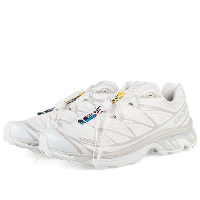 Salomon XT-6 'White/Lunar Rock' productafbeelding
