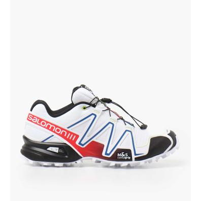 Salomon SPEEDCROSS 3 RACING White Black Racing Red productafbeelding