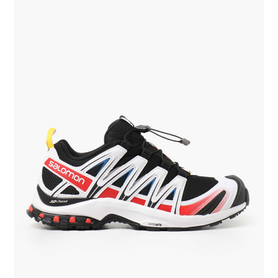 Salomon XA PRO 3D RACING Black White Racing Red productafbeelding