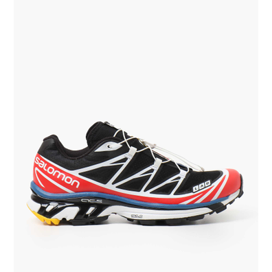 Salomon XT-6 RACING Black White Racing Red productafbeelding