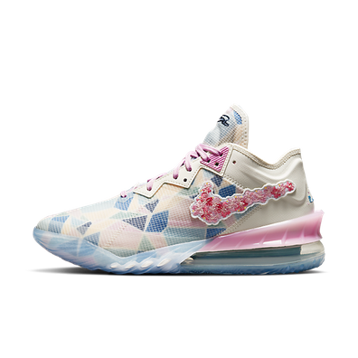 Atmos Nike LeBron 18 Low 'Cherry Blossom' productafbeelding