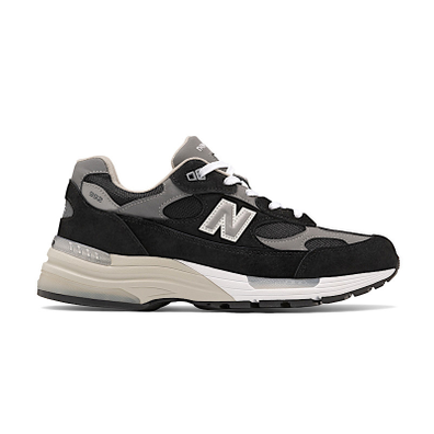 New Balance 992 Black Suede productafbeelding