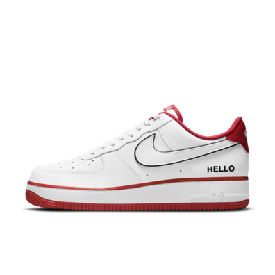 Nike Air Force 1 'Hello My Name is' - White productafbeelding