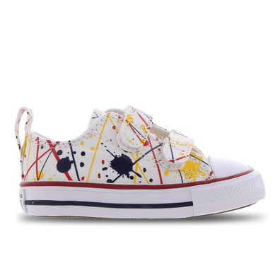 Paint Splatter Easy-On Chuck Taylor All Star Low Top voor peuters productafbeelding