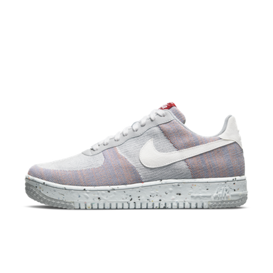 """Nike Air Force 1 Crater FlyKnit 'Wolf Grey"""" productafbeelding"""