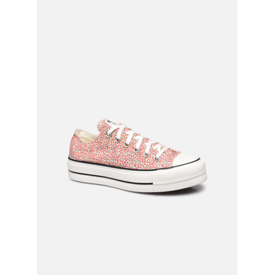 Vintage Floral Platform Chuck Taylor All Star Low Top productafbeelding