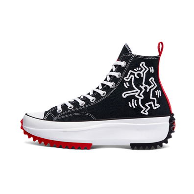 Keith Haring X Converse Run Star 'Black' productafbeelding