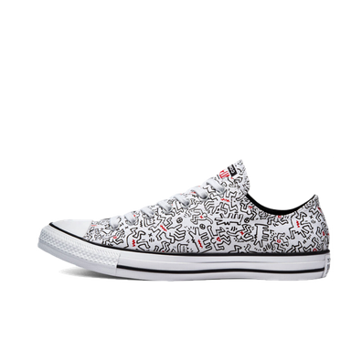 Keith Haring X Converse Chuck Taylor Low 'White' productafbeelding