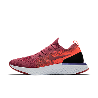 Nike WMNS Epic React Flyknit 'Vintage Wine' productafbeelding