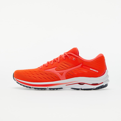 Mizuno Wave Rider 24 Ignition Red/ Fiery Coral 2 productafbeelding