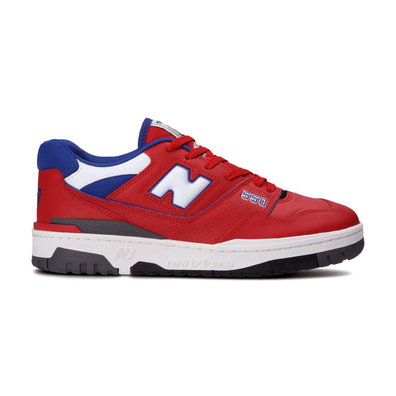 New Balance 550 Red Blue productafbeelding