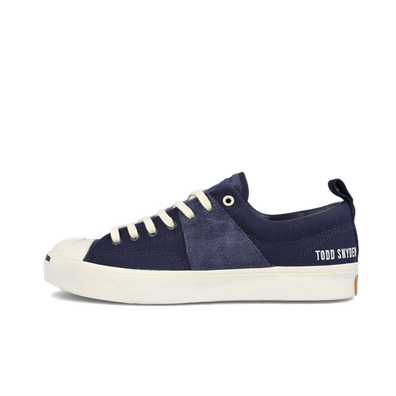 Todd Snyder X Converse Jack Purcell Low 'Obsidian' productafbeelding