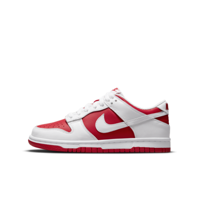 Nike Dunk Low GS 'University Red' productafbeelding