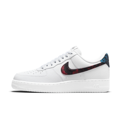 Nike Air Force 1 Tie-Dye 'White' productafbeelding