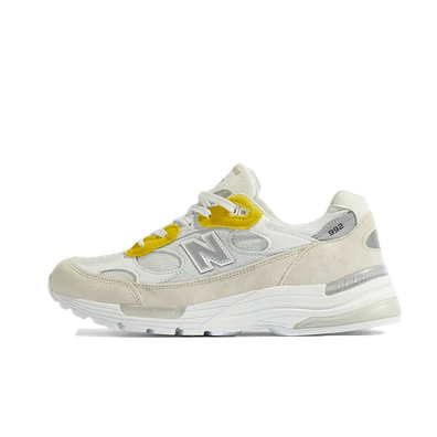 Paperboy X New Balance 992 'Fried Egg' productafbeelding