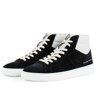Mid Court Suede 'Black' productafbeelding
