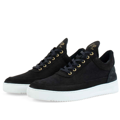 Low Top Ripple Ceres 'Black' productafbeelding