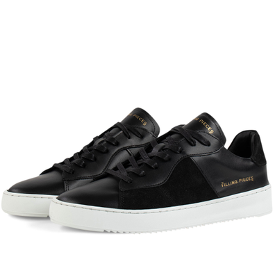 Court Ripple Suede Mix 'Black' productafbeelding