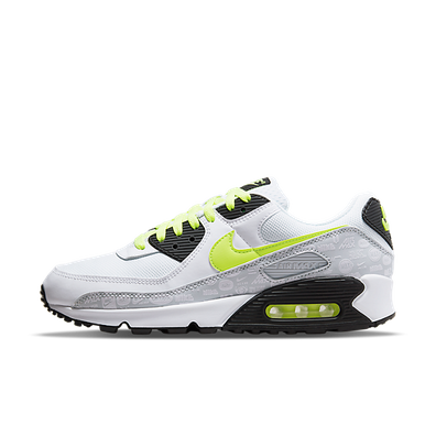 Nike Air Max 90 'White/Volt' productafbeelding