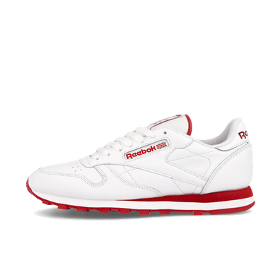 Reebok Classic Leather 'White/Flash Red' productafbeelding