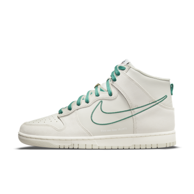 Nike Dunk High 'First Use' - Green Noise productafbeelding