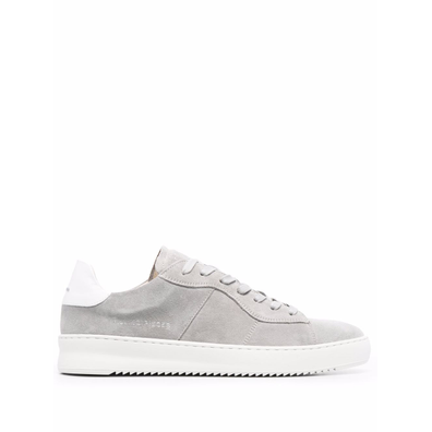 panelled suede low-top productafbeelding